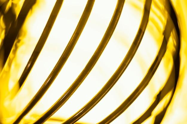 Fundo de tecnologia de luz amarela