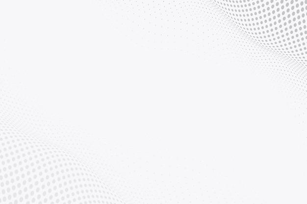 Fundo de tecnologia de wireframe abstrato cinza