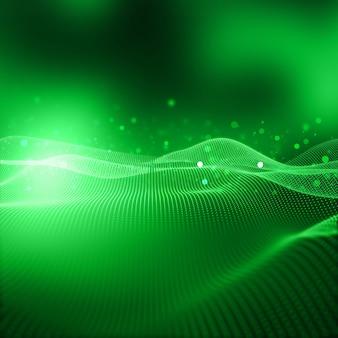 Fundo de tecnologia moderna, redes e conexões