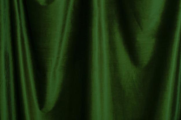 Fundo de tela de veludo verde close-up