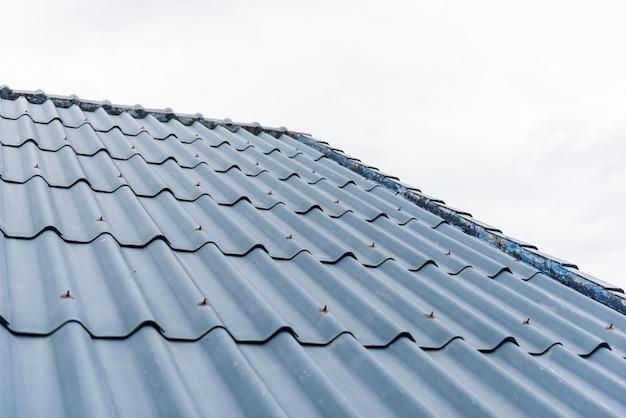 Fundo de telhado de telhas