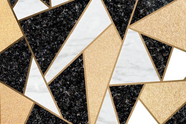 Fundo de telhas de mosaico de mármore