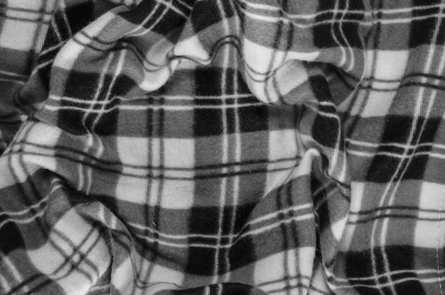 Fundo de têxteis, imagem sem preto e branco