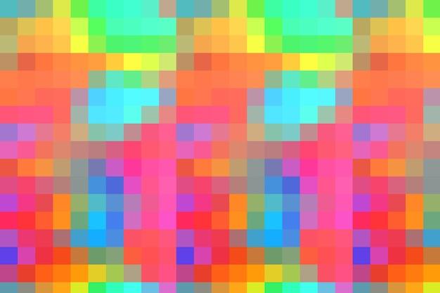 Fundo de textura abstrata de mosaico colorido, padrão de fundo de papel de parede gradiente