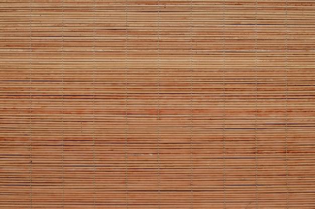 Fundo de textura cego de bambu de madeira