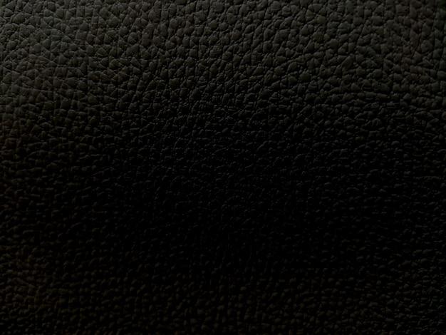 Fundo de textura crua de couro preto