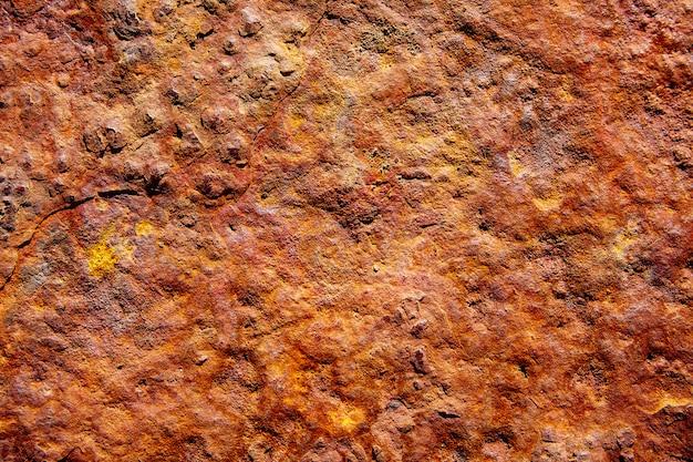 Fundo de textura de aço ferro enferrujado envelhecido