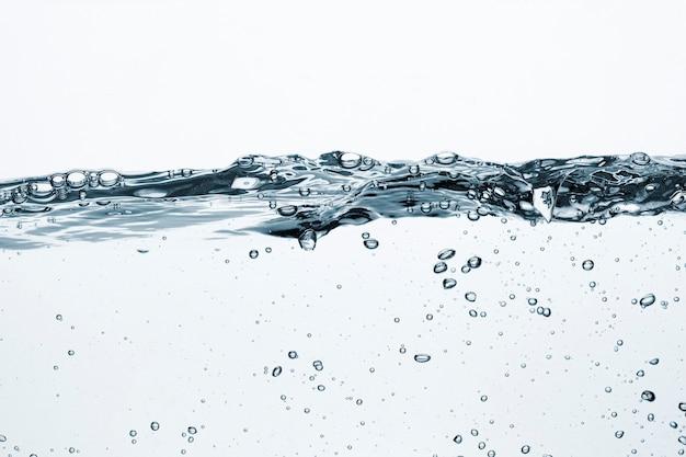 Fundo de textura de água, líquido transparente