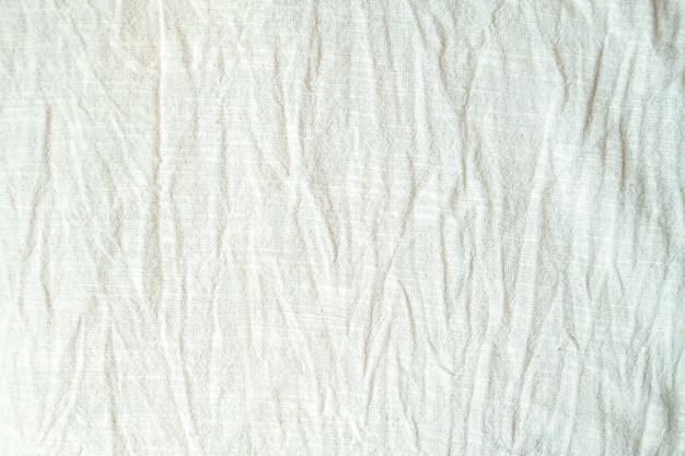 Fundo de textura de algodão de tecido natural