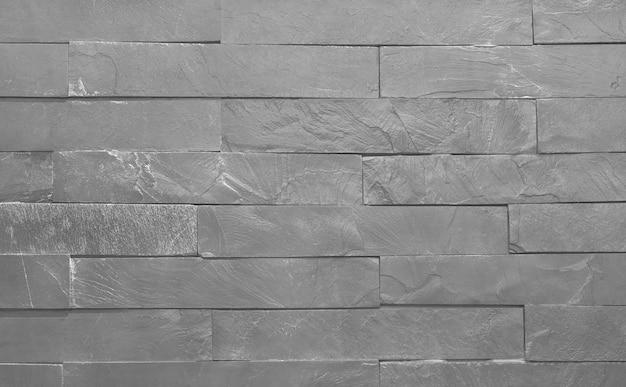 Fundo de textura de ardósia cinza claro com alta resolução, padrão de parede de tijolo de pedra.