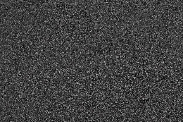 Fundo de textura de asfalto preto. vista do topo.