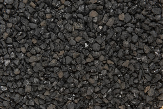 Fundo de textura de asfalto preto