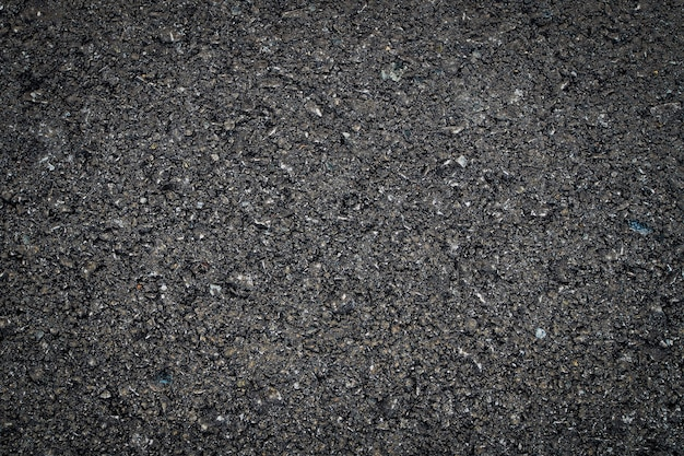 Fundo de textura de asfalto, superfície áspera de asfalto