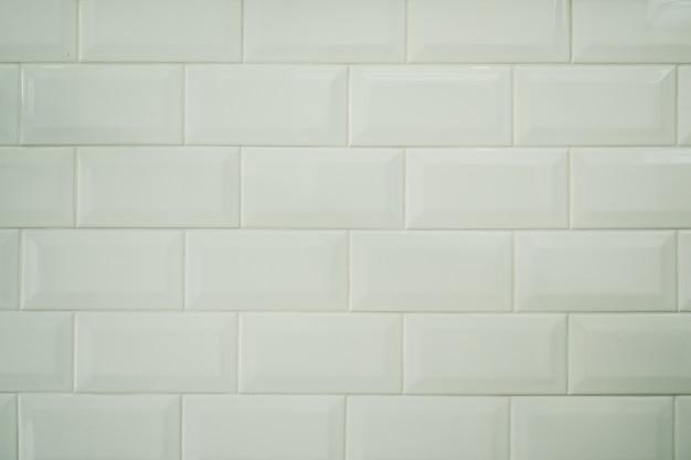 Fundo de textura de azulejo branco