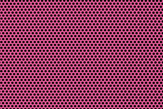 Fundo de textura de bolinhas sem costura rosa.