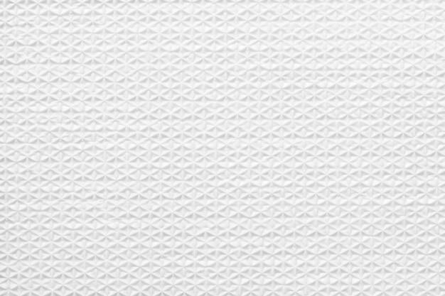 Fundo de textura de borracha branca com padrão sem emenda.
