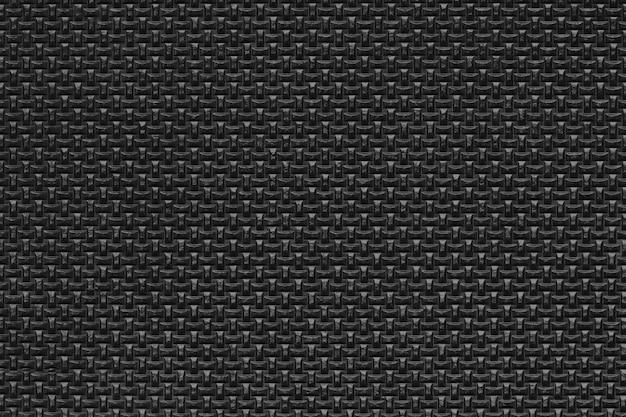 Fundo de textura de borracha preta