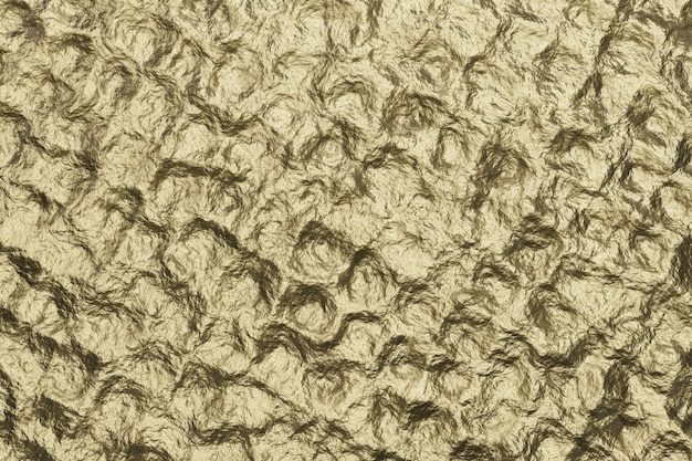 Fundo de textura de bronze. parede texturizada dourada. renderização 3d.