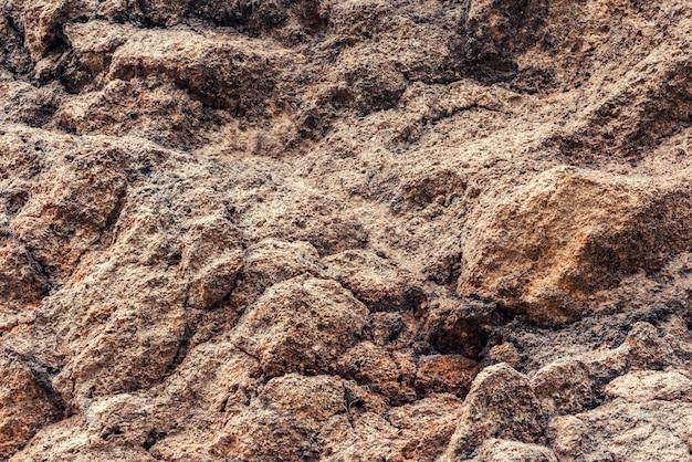 Fundo de textura de camadas rochosas
