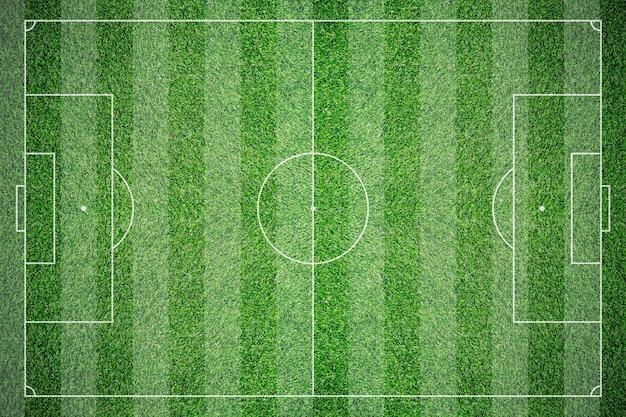 Fundo de textura de campo de futebol