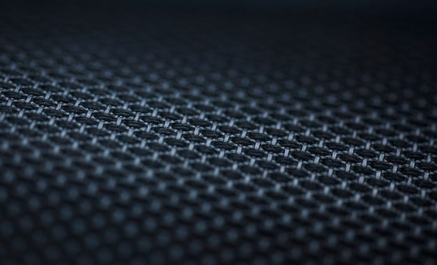 Fundo de textura de carbono preto