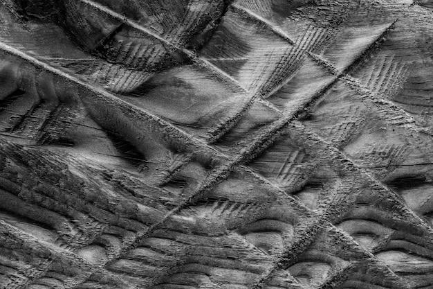 Fundo de textura de casca de madeira abstrata incomum incolor