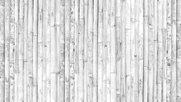 Fundo de textura de cerca ou parede de bambu
