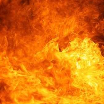 Fundo de textura de chamas de incêndio de chamas