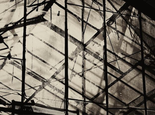 Fundo de textura de construção industrial vintage
