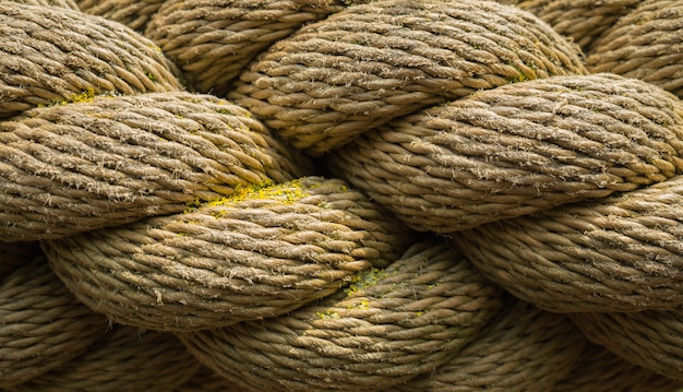 Fundo de textura de corda velha