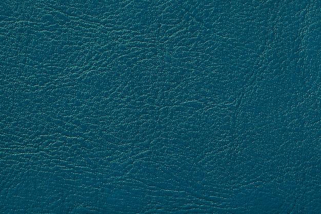 Fundo de textura de couro azul marinho escuro turquesa rachado pano de fundo da pele de rugas