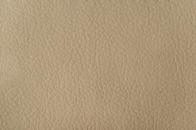 Fundo de textura de couro bege para superfície