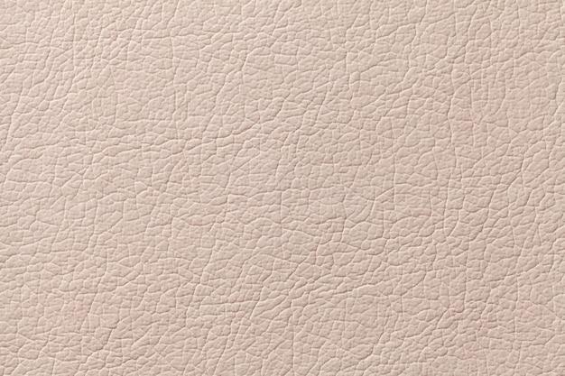 Fundo de textura de couro bege