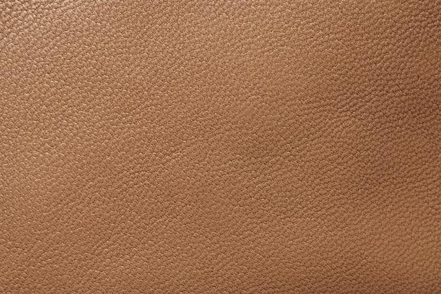 Fundo de textura de couro marrom close-up