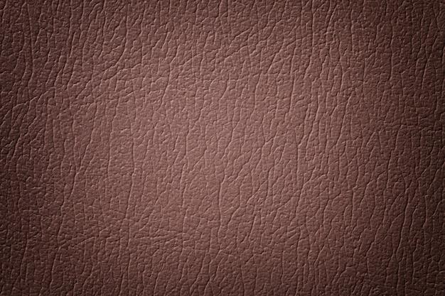 Fundo de textura de couro marrom escuro