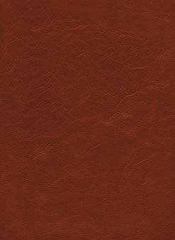 Fundo de textura de couro marrom. padrão de material natural
