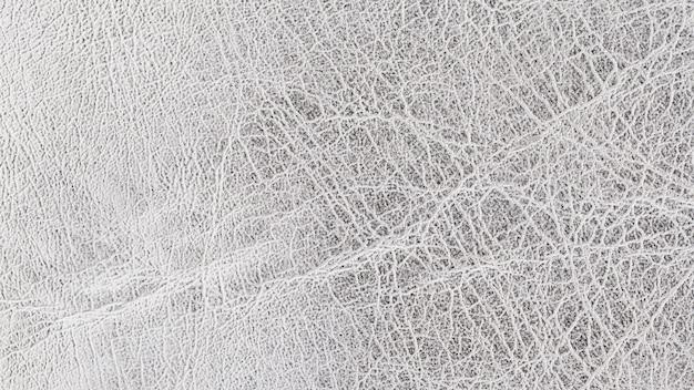 Fundo de textura de couro prata