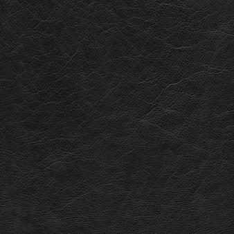 Fundo de textura de couro preto. material natural.