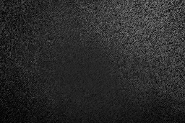 Fundo de textura de couro preto