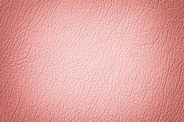 Fundo de textura de couro rosa com padrão