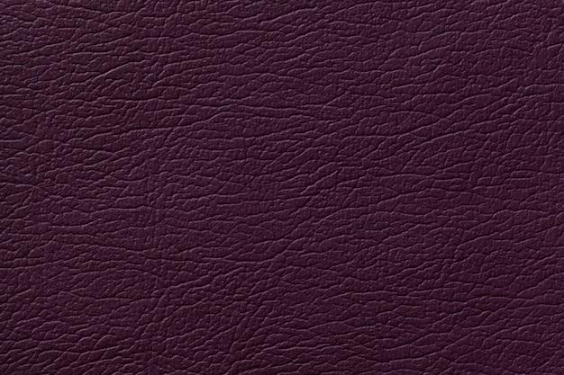 Fundo de textura de couro roxo escuro com