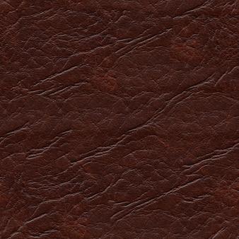 Fundo de textura de couro sintético marrom escuro sem costura
