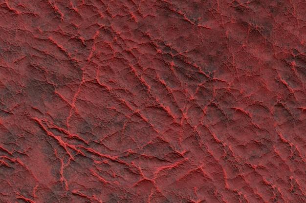 Fundo de textura de couro vermelho escuro