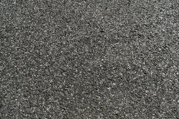 Fundo de textura de estrada de asfalto preto