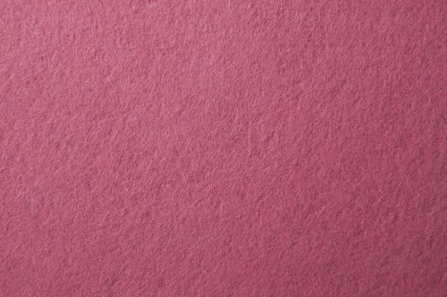 Fundo de textura de feltro rosa para superfície