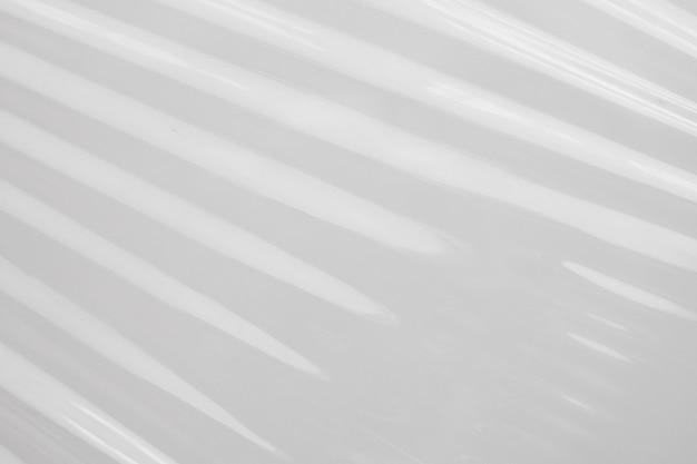 Fundo de textura de filme plástico branco