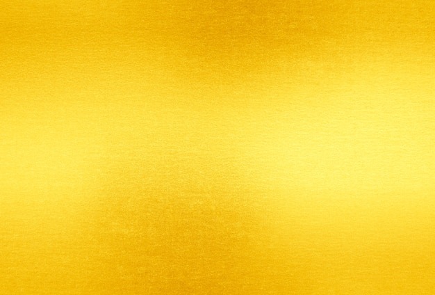 Fundo de textura de folha de ouro brilhante folha amarela