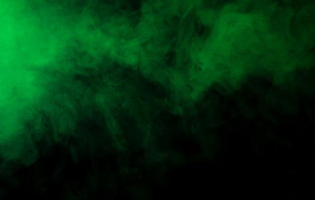 Fundo de textura de fumaça verde