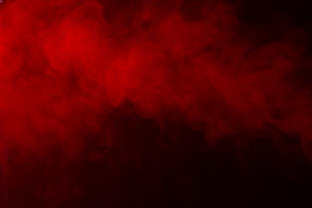 Fundo de textura de fumaça vermelha