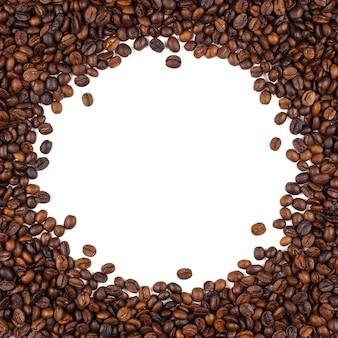 Fundo de textura de grãos de café tailandês torrado